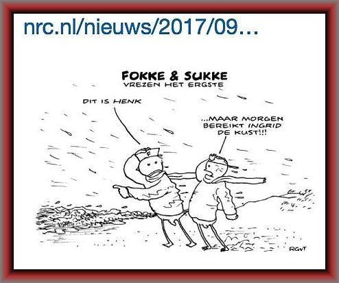 Fokke en Sukke vrezen het ergste (bron: NRC op twitter)